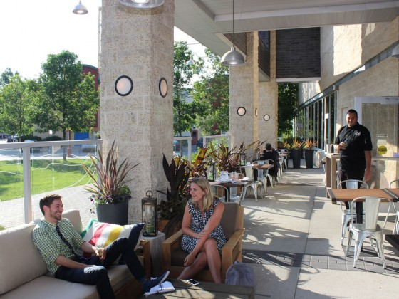 Did you know it has a patio? Winnipeg's newest (and lesser-known) patio places