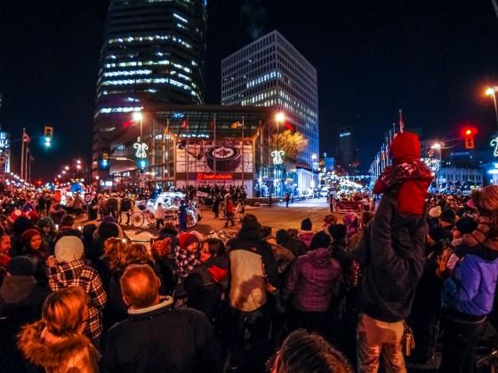 Santa Claus brings his Parade to Winnipeg this weekend