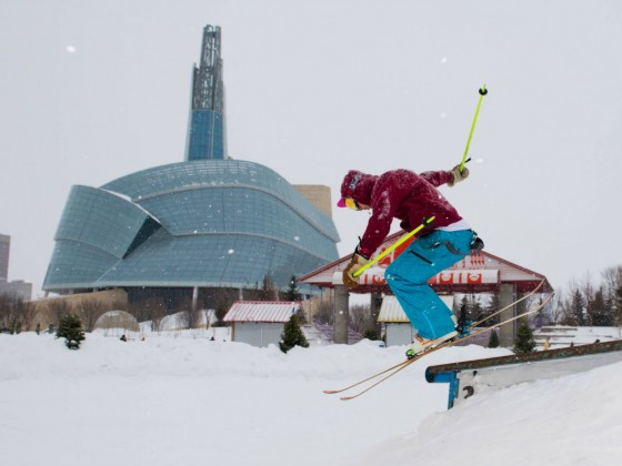 Find all the outdoor winter fun at The Forks this January