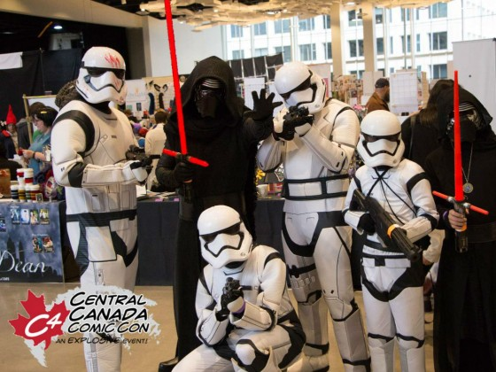 Don't be the last Jedi to Central Canada Comic Con