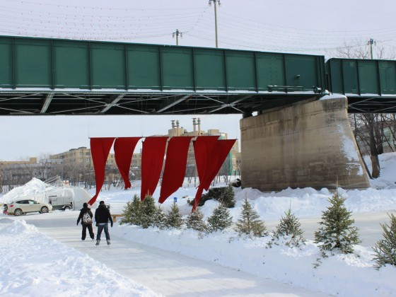 Winter at The Forks is a rite of passage