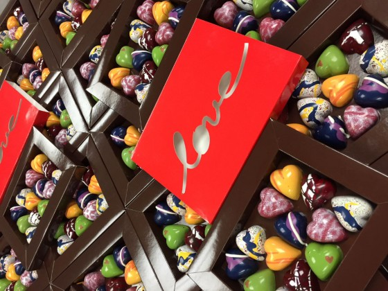 Sweeten the deal with your sweetheart on Valentine's Day at Chocolatier Constance Popp