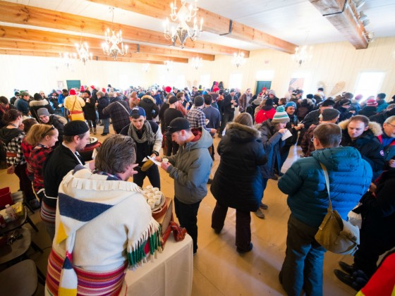 Feasting at Festival du Voyageur is one of our favourite things