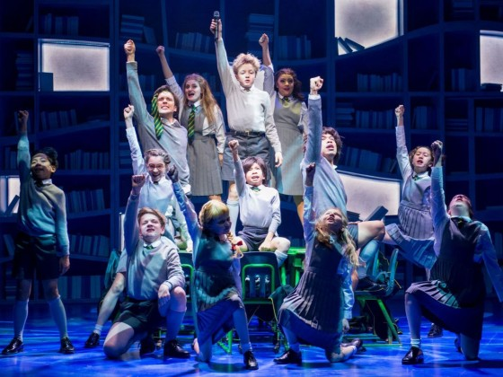 Review: The kids are more than all right in Matilda