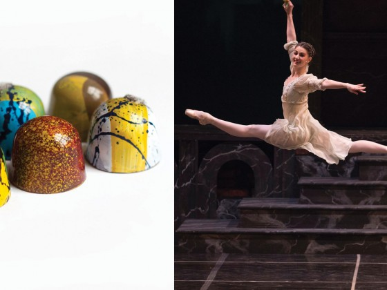 Former Royal Winnipeg Ballet dancer's chocolates taking centre stage