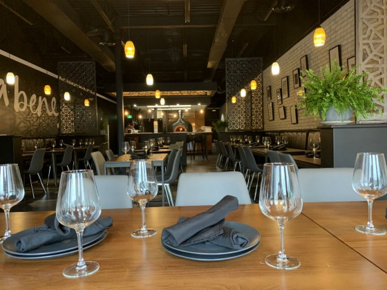 What's new for July on Winnipeg's culinary scene - The dining room at Osteria del Piolo (photo courtesy of @osteria_wpg)