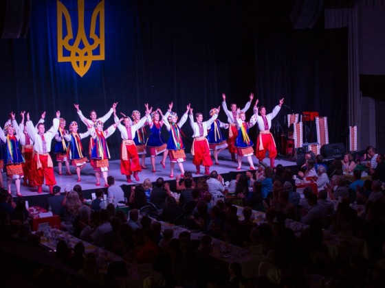 Gourmands go globetrotting at Folklorama - A packed house at the Ukrainian Pavilion (photo courtesy of Folklorama)