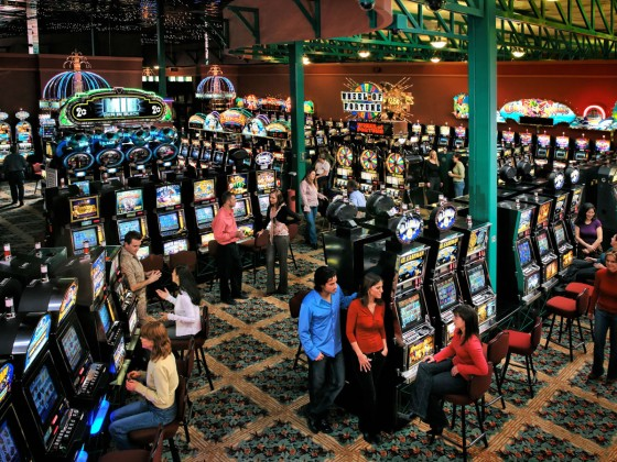 Playing our luck at Club Regent and McPhillips Station Casino