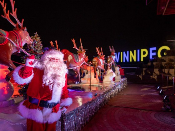 The 110th Winnipeg Santa Claus Parade is readying its reindeer