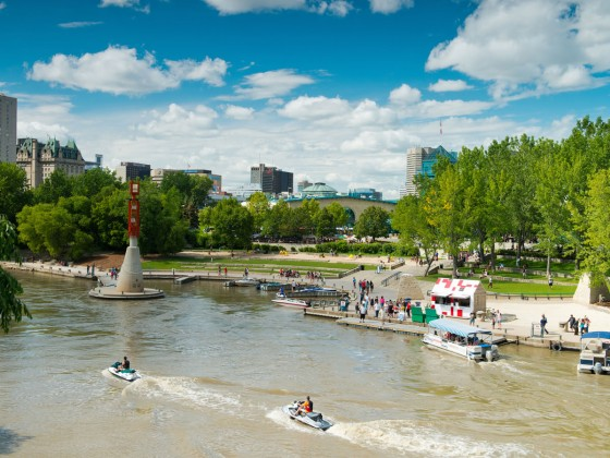 Labour Day long weekend at the Forks