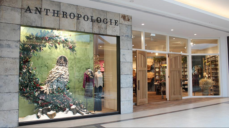 Anthropologie opened on October 17th (Polo Park)
