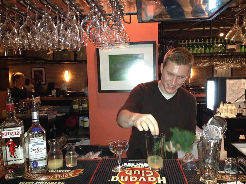 Marc Tessier, mixologist at Hermanos