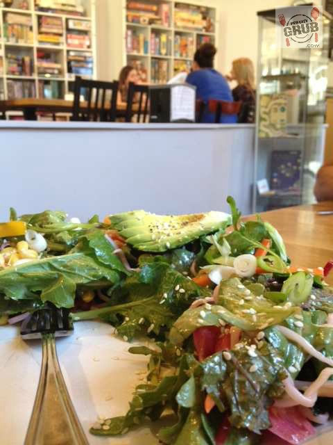 Beached Kale salad at Across the Board.