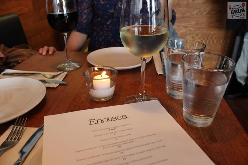 Let the eating begin at Enoteca, chef Scott Bagshaw's newest venture. (Photos by Robin Summerfield)