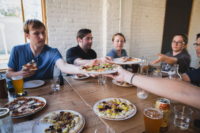 The Dine the District tour includes a stop at PEG Beer Co. (photo by Mike Peters photography)