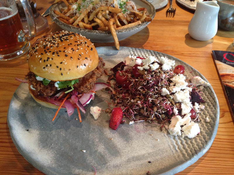 While diner at deer + almond often gets all the accolades, their lunch is also top notch (PCG)