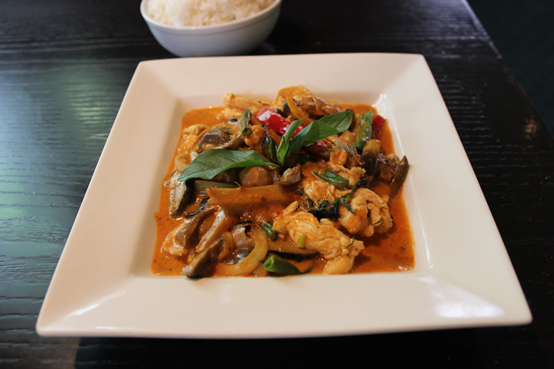 Three Mushroom Panang Curry (PCG)
