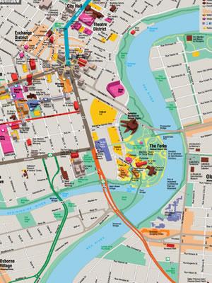 Winnipeg Maps & Publications   Tourism Winnipeg on