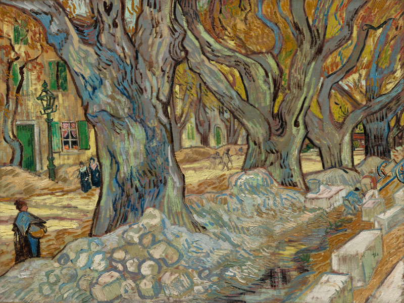 The Large Plane Trees, 1889, The Phillips Collection, Washington / Photo: Laurence Labat