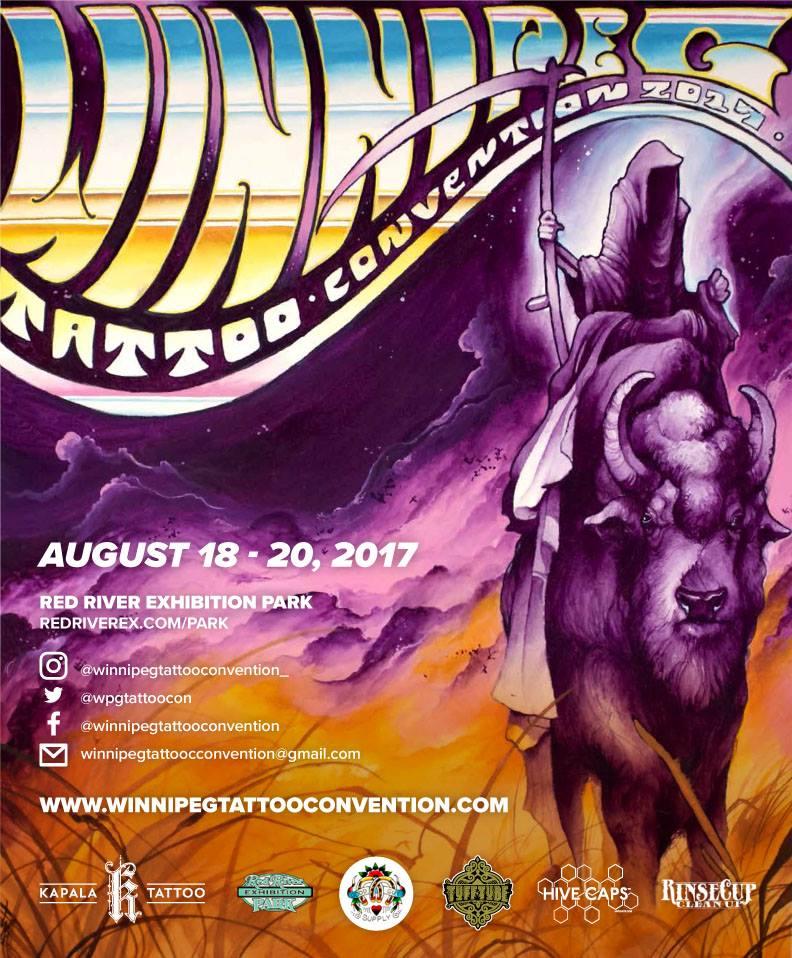 The first annual winnipeg tattoo convention upcoming for Upcoming tattoo conventions
