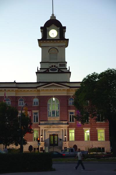 St. Boniface City Hall & Sculpture Gardens
