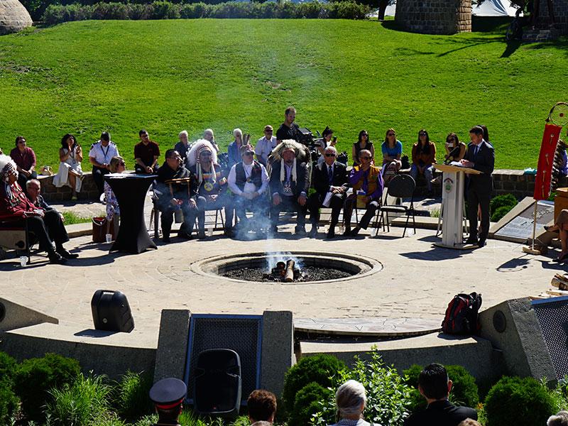 Oodena Celebration Circle