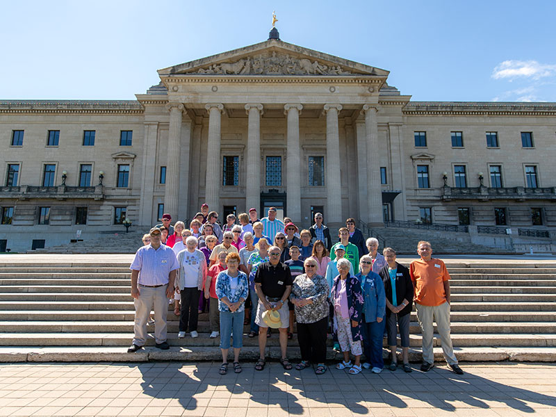 Manitoba Legislative Building Tours