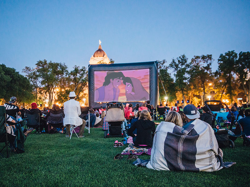 Movies on Memorial (every Tuesday in August)