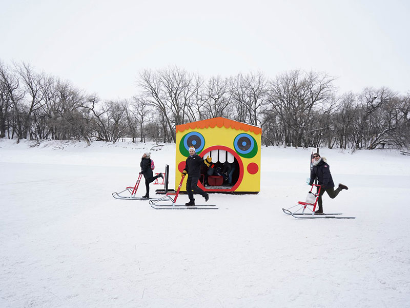 Crokicurl at The Forks