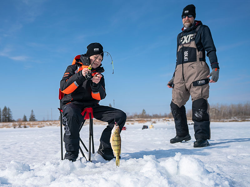 Snowshoeing & Ice Fishing at FortWhyte Alive