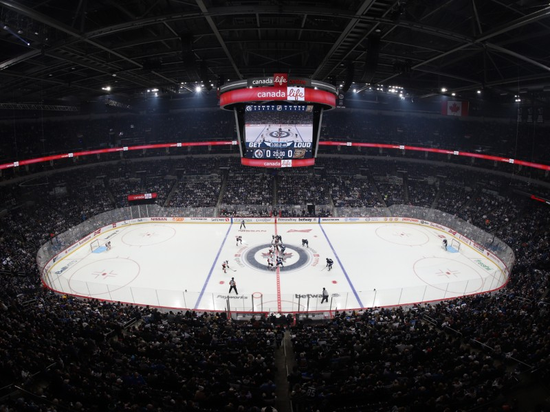 Hockey - Manitoba Moose and Winnipeg Jets