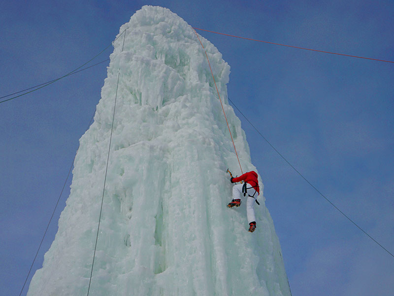 Saint Boniface Ice Climbing Tower