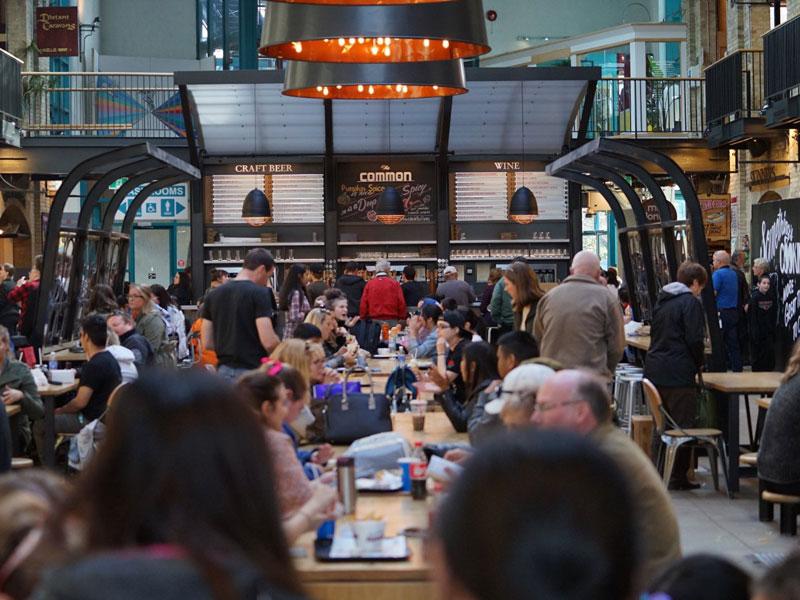 Winnipeg's hottest food hall - representative image