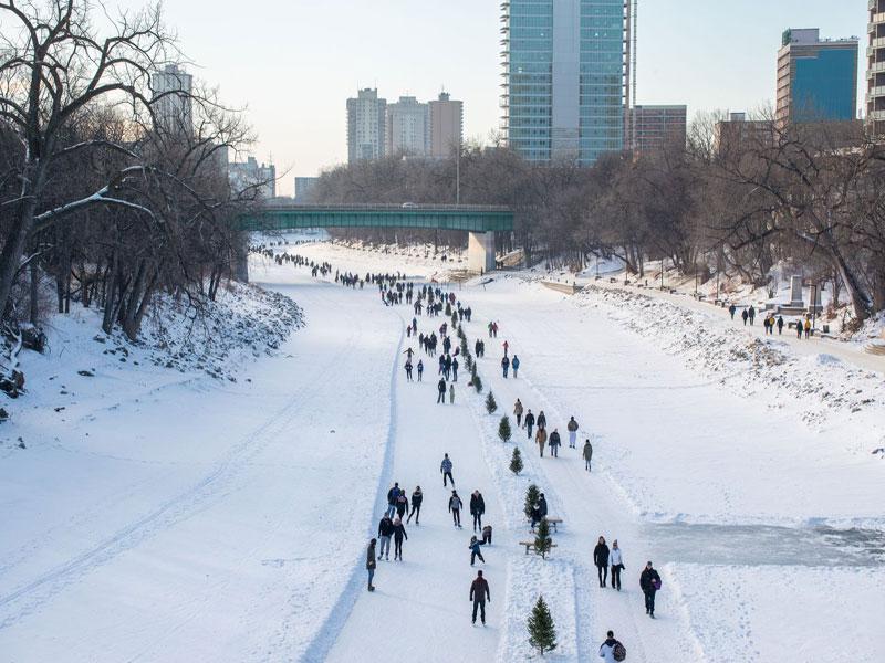 Winter in Winnipeg - representative image