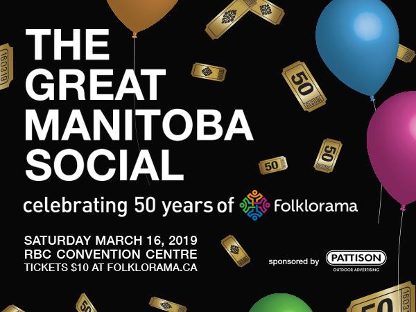 The Great Manitoba Social celebrating 50 years of Folklorama - representative image