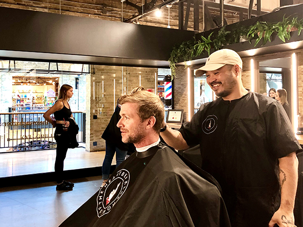 Beer + Beard Trim at The Forks? Yes please! - representative image