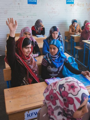 Girl of Courage: Malala's Fight for Education - representative image