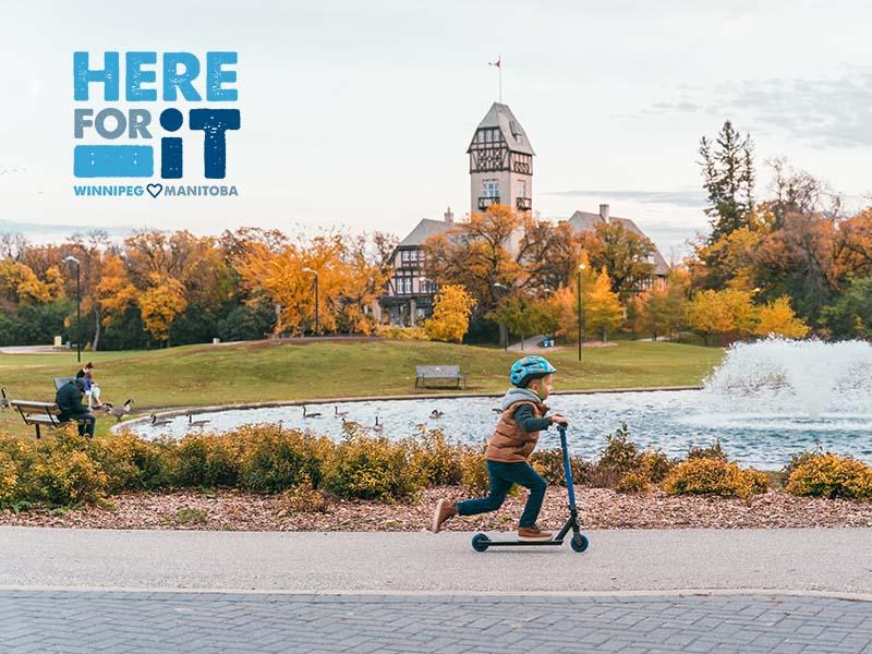 Here For It Winnipeg - representative image