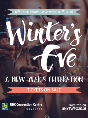 Winter's Eve – A New Year's Celebration at RBC Convention Centre - representative image