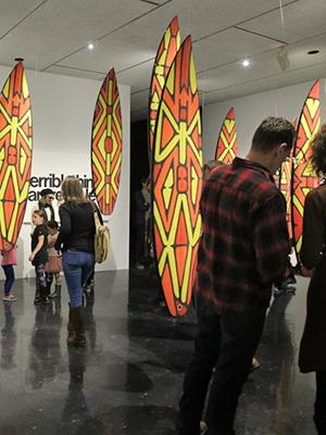 Surf's Up at the WAG - representative image