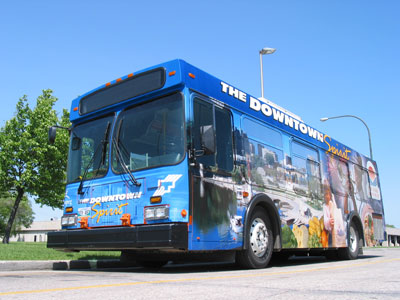 Downtown Spirit - free downtown transit service